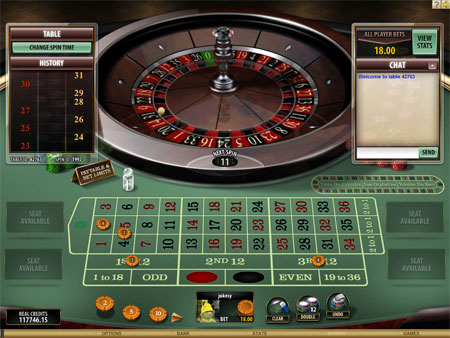 Multi-Player Online Roulette Game