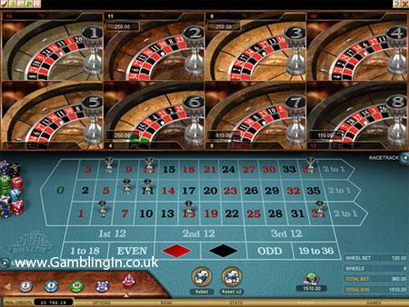 New Multi Wheel Online Roulette Game