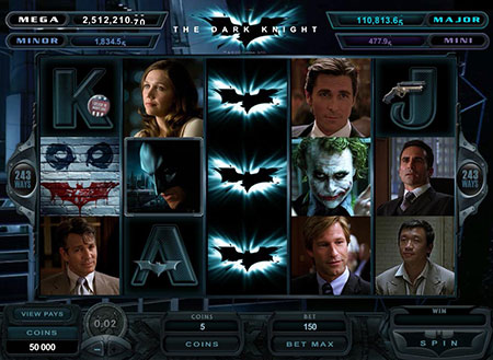 Batman Dark Knight Video Slot Game