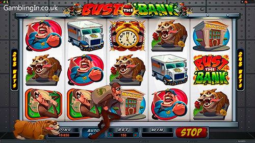 Bust the Bank Slots Bonus