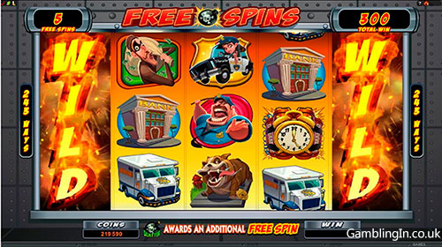 Bust the Bank Slots Free Spins