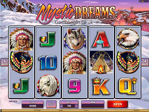 Mystic Dreams Video Slot Machine