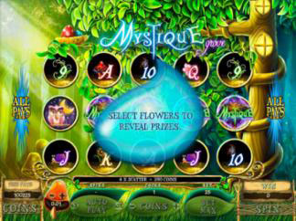 New Mystique Grove Slots Bonus