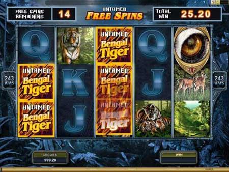Bengal Tiger Slots Free Spins