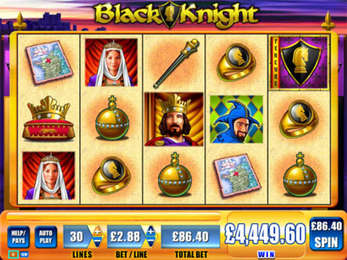 Black Knight slots online game