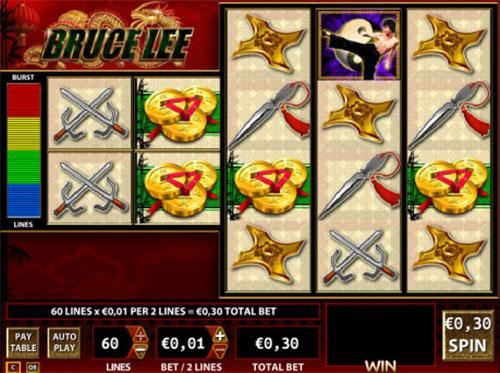 Bruce Lee online slots