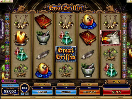 Great Griffin Online Video Slot