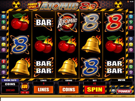 Power Spins – Atomic 8s Online Video Slot