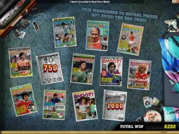 Shoot! Slots Bonus Game