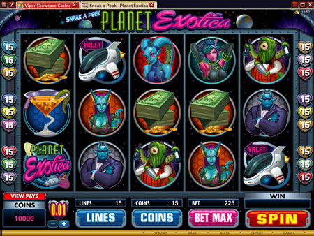 New Online Slots - Planet Exotica
