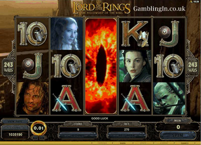 The Lord of the Rings Slot Machine Game