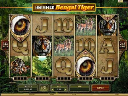 Untamed - Bengal Tiger Video Slot Game